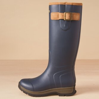 Burford Ladies Wellington Boots - Navy