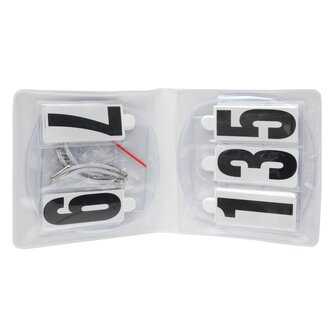 Competition Oval Number Holder