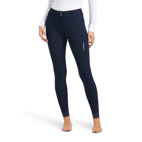 Tri Factor Grip Knee Junior Breeches - Navy