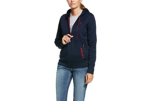 Team Keats Ladies Hoodie - Navy