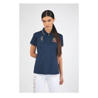 Team Tech Polo Shirt Ladies - Navy