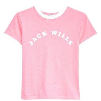 Blackmore Flocked Ringer T Shirt