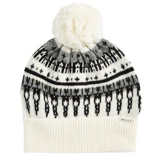 Bromley Fairisle Pom Pom Hat