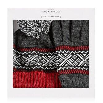 Wythop Fairisle Hat And Glove Set