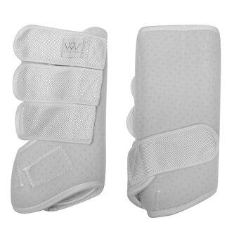 Dressage Wrap Boots - White/White
