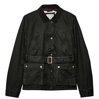 Rossmore Sherpa Lined Wax Jacket