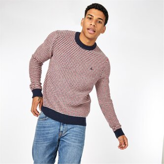 Shenton Jacquard Knitted Jumper