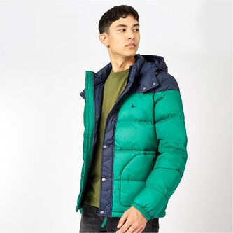 Moxley Colour Block Puffer Jacket