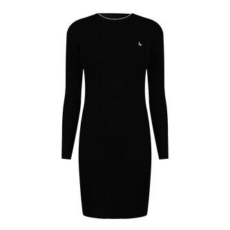 Long Sleeve Knitted Mini Dress