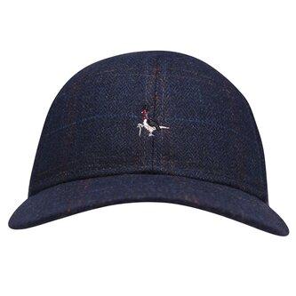 Farnborough Check Wool Cap