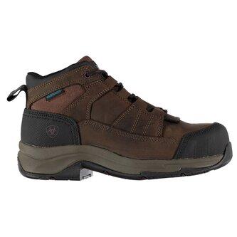 Telluride H20 Ladies Work Boots - Distressed Brown
