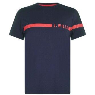 Budden Stripe Logo T Shirt