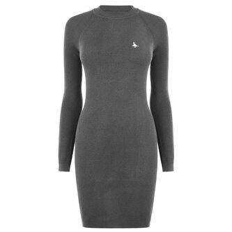 Bookham Ribbed Knitted Mini Dress