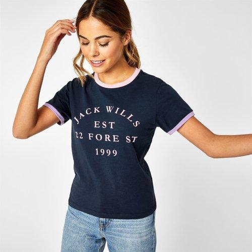 Blackmore Flocked Logo T Shirt