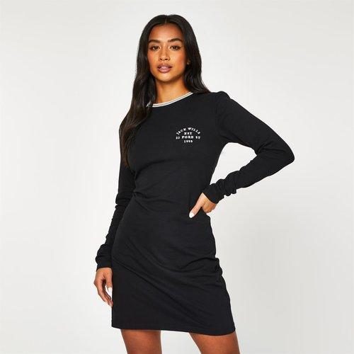 Capstaff Long Sleeve T Shirt Mini Dress