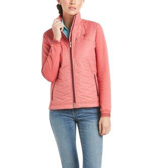 Hybrid Insulated Jacket Ladies - Amaranth