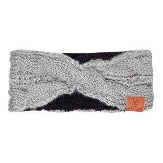 Ladies Cable Headband - Sleet