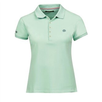 Ladies Lily Cap Sleeve Polo - Lichen Green