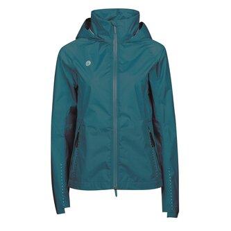 Ladies Cortina Waterproof Jacket - Deep Lagoon
