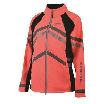Ladies Reflective Softshell Fleece Lined Jacket - Pink