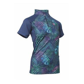 Highgate Short Sleeve Zip Top Ladies