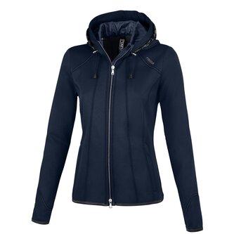 Ladies Janny Summer Fleece Jacket - Night Sky Melange