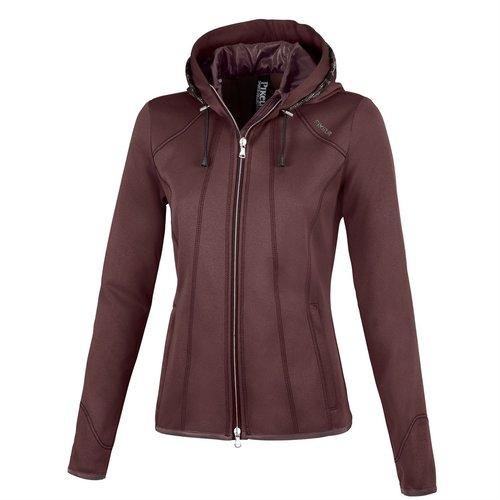 Ladies Janny Summer Fleece Jacket - Light Aubergine