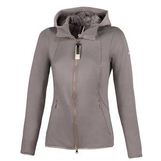 Ladies Lova Power Stretch Fleece Jacket - Light Taupe