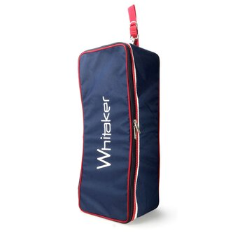 Kettlewell Bridle Bag - Navy/Red