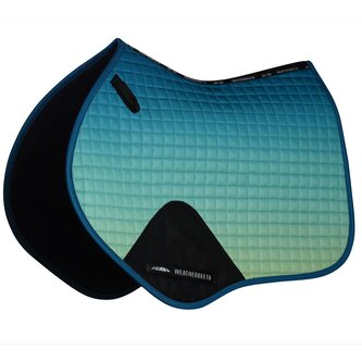 Prime Ombre Jump Shaped Saddle Pad - Oceans Reef