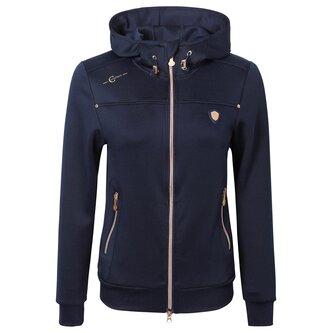 Ladies Hoodie Jacket - Navy