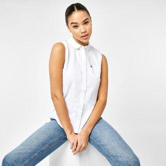 Averton Sleeveless Oxford Shirt