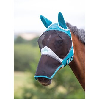 Fine Mesh Fly Protector With Ears and Nose