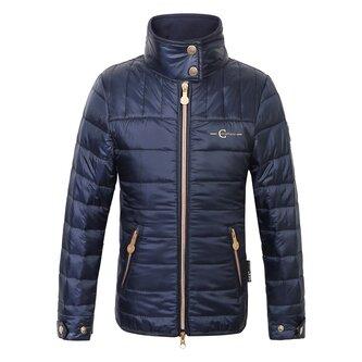 Junior Quilted Jacket - Navy