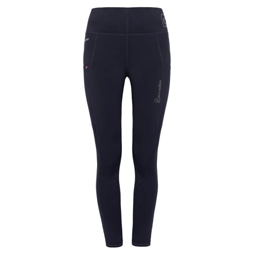Ladies Lea Grip Riding Leggings - Dark Blue