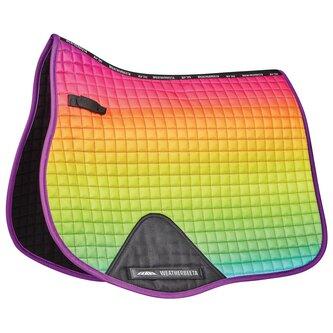 Prime Ombre All Purpose Saddle Pad - Rainbow Lust