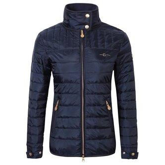 Ladies Quilted Jacket - Navy