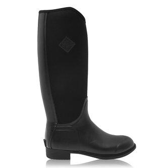Ladies Derby Tall Boots - Black