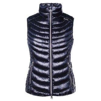 Ladies Sanna Lightweight Waistcoat - Dark Blue