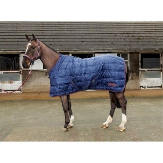 Rastrick 200g Stable Rug - Navy/Red