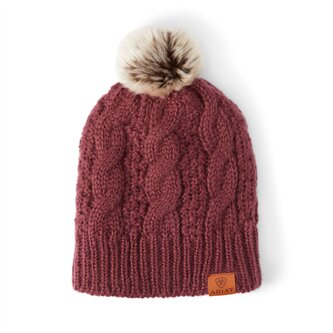Cable Beanie Mens