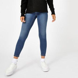 Sancomb Cropped Super Skinny Jeans