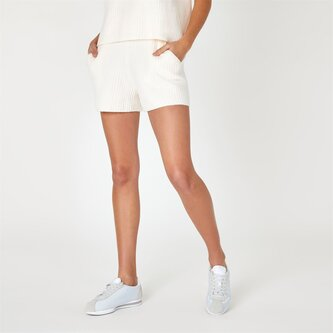 Ribbed Lounge Knitted Shorts