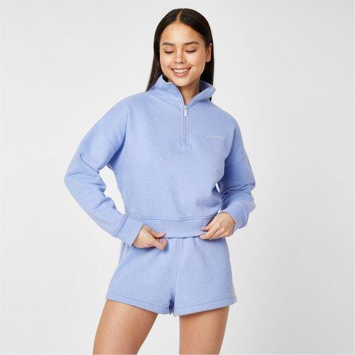 Active Funnel Neck Zip Up Sweatshirt