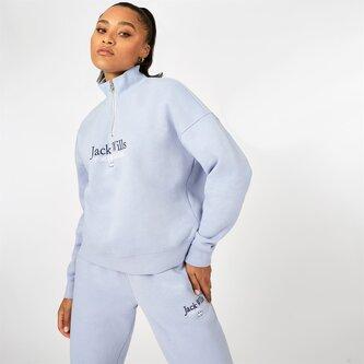 Honeylane Half Zip Sweatshirt