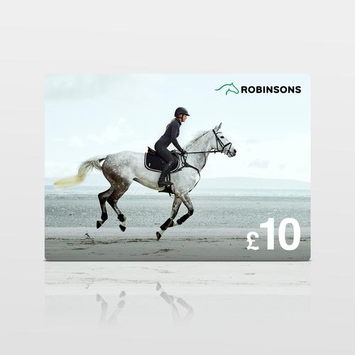Robinsons Equestrian £10 Virtual Gift Voucher