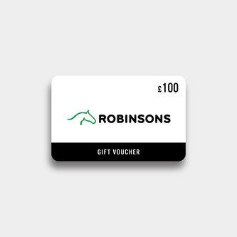 Robinsons Equestrian £100 Virtual Gift Voucher