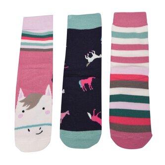 3 Pack Socks