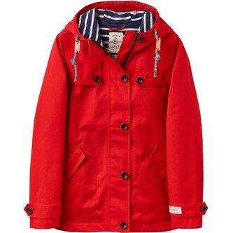Hooded Jacket With Toggle